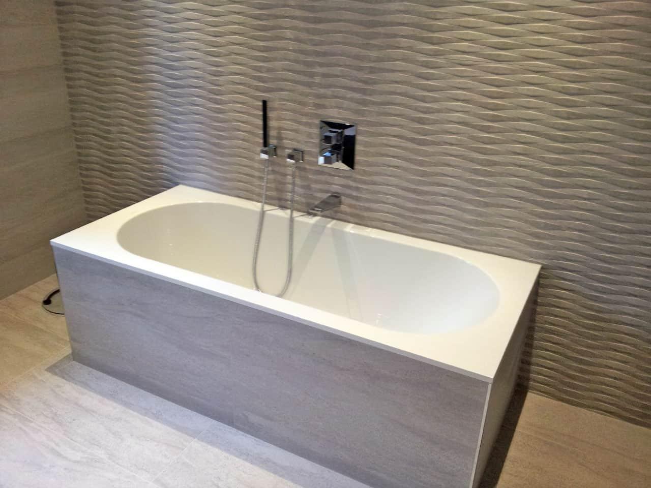 Installation de baignoire