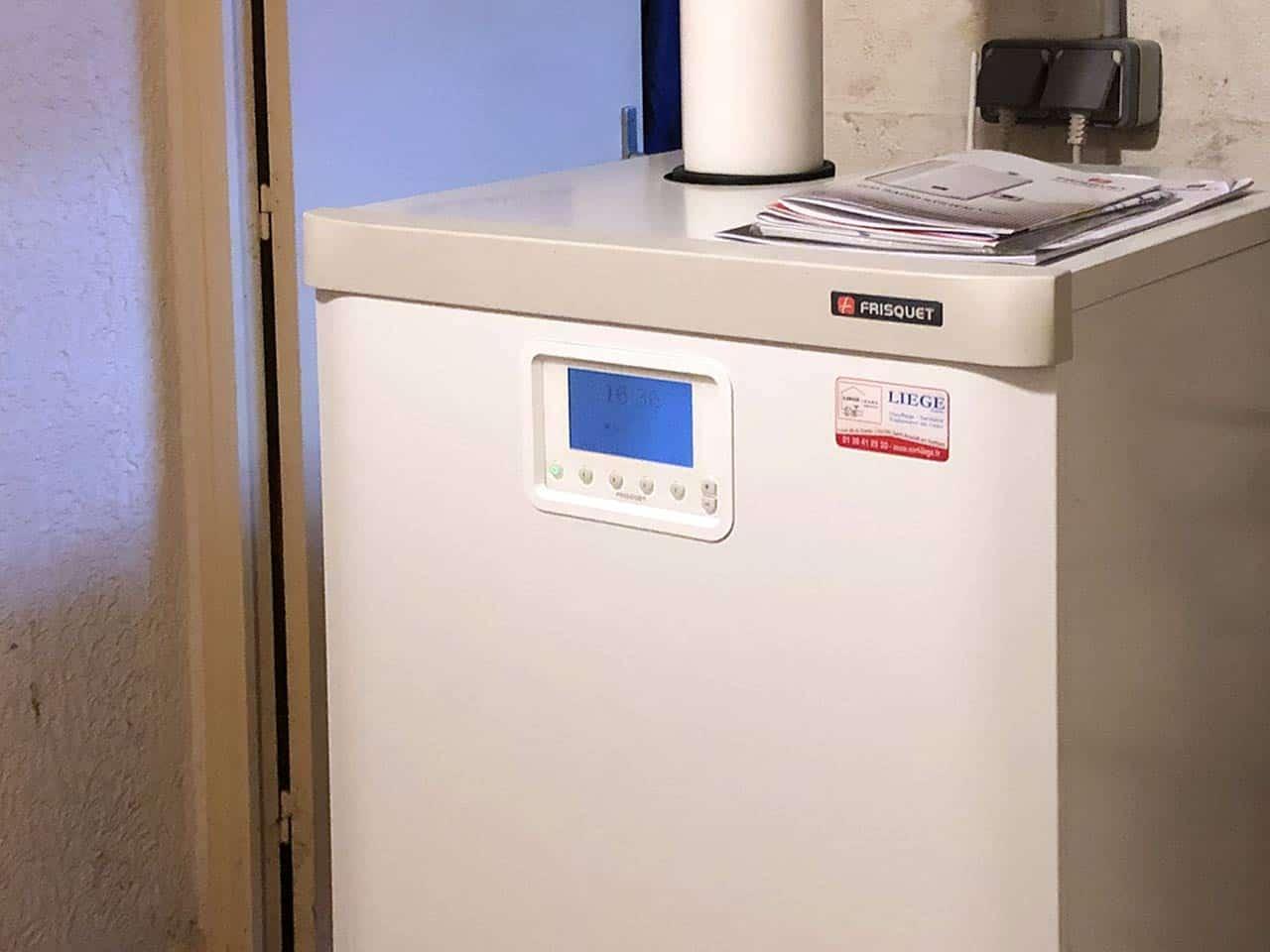 installation chaudière gaz rambouillet